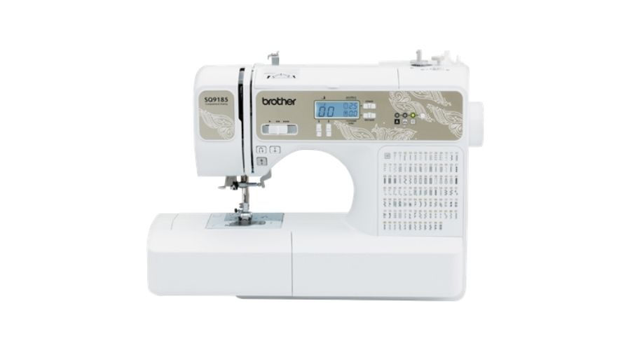 The Brother SQ9185 sewing machine